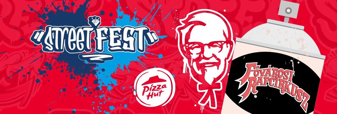 KFC Street Fest - Fővárosi Rapcirkusz - Budapest Park