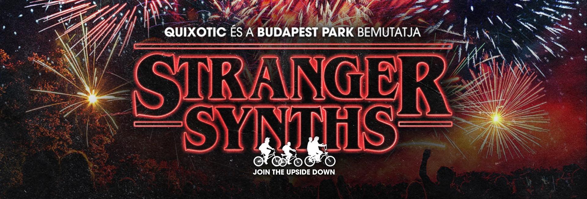 STRANGER SYNTHS - Budapest Park
