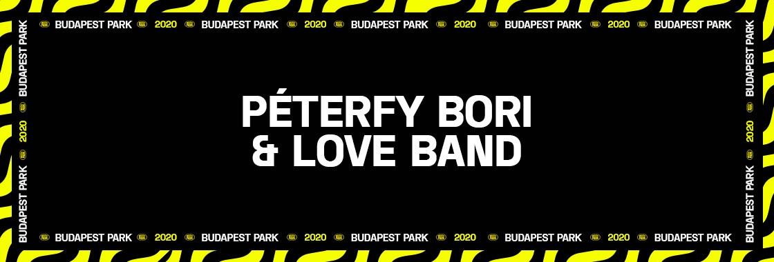 PÉTERFY BORI & LOVE BAND - Budapest Park
