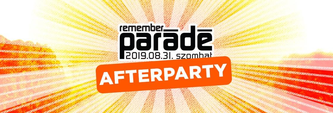 Parádé Remember After - Budapest Park