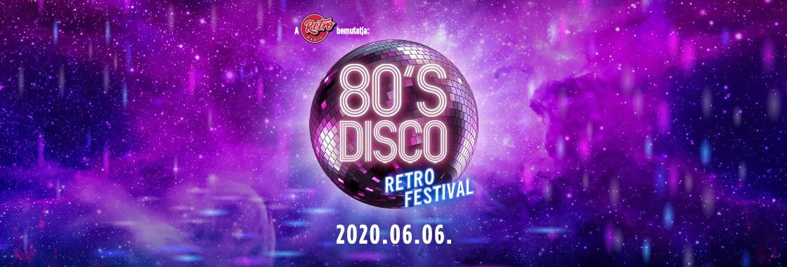 Postponed! 80's Disco - Budapest Park