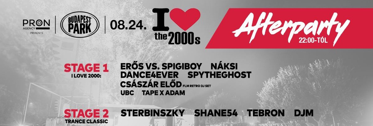 ATB Afterparty - Budapest Park